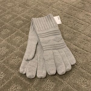 NWT Michael Kors mk gray gloves one size